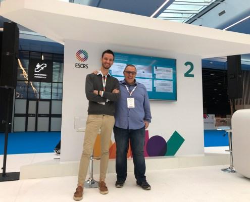 Umberto Bassi e Salvatore Ferrandes | ESCRS 2019 | Centro Ambrosiano Oftalmico