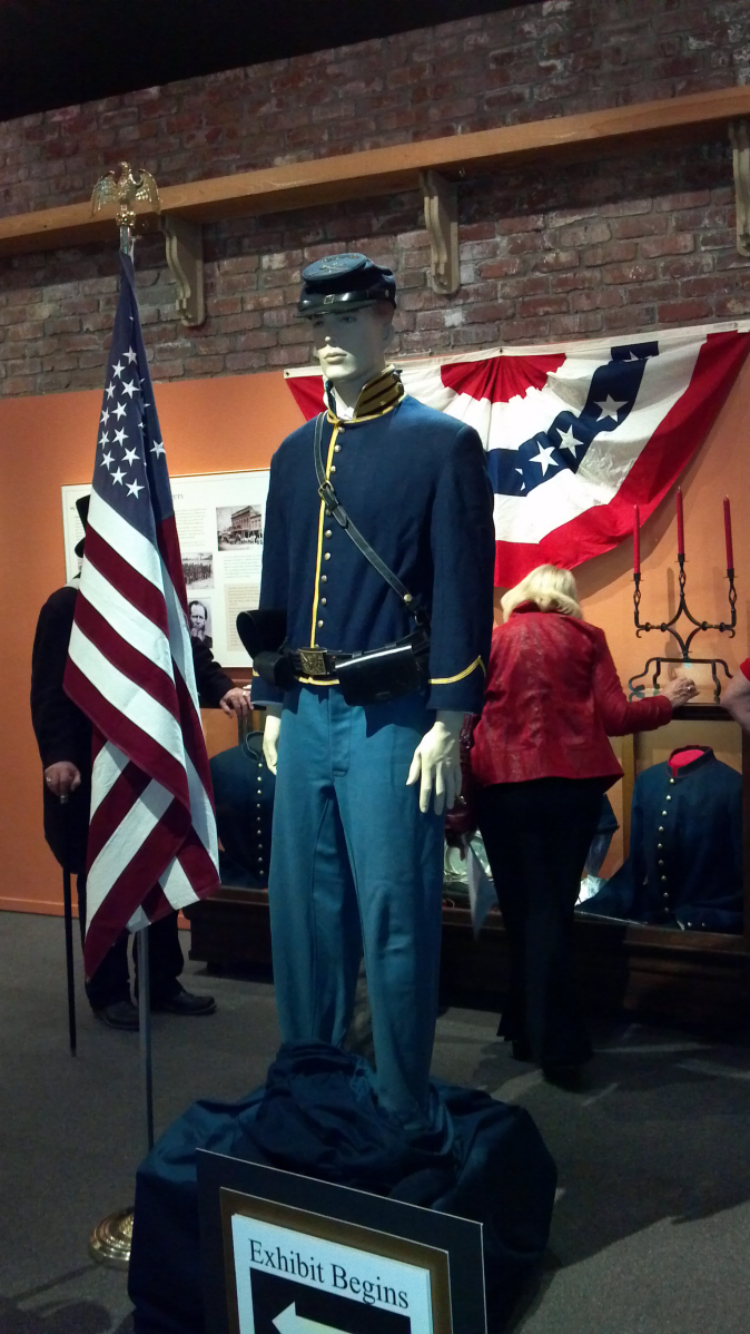 California and the Civil War Special Exhibition at Folsom