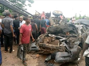 Four Persons Feared Dead, Others Injured As Truck, Commercial Vehicle Crashes in Obosi, Anambra State