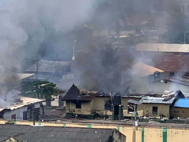 Breaking: Ikoyi Correctional Centre Under Attack