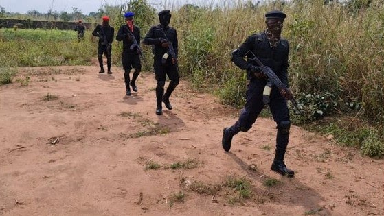 Nigeria Military Clashes with The Eastern Security Network in Imo State