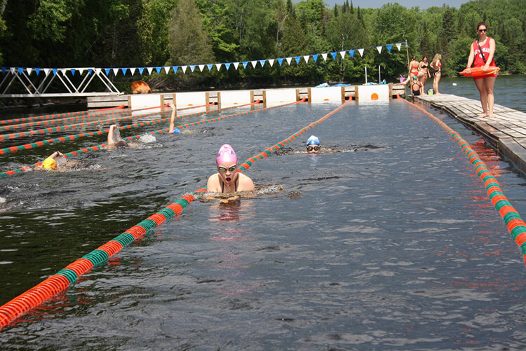 Swimming Camp for Girls