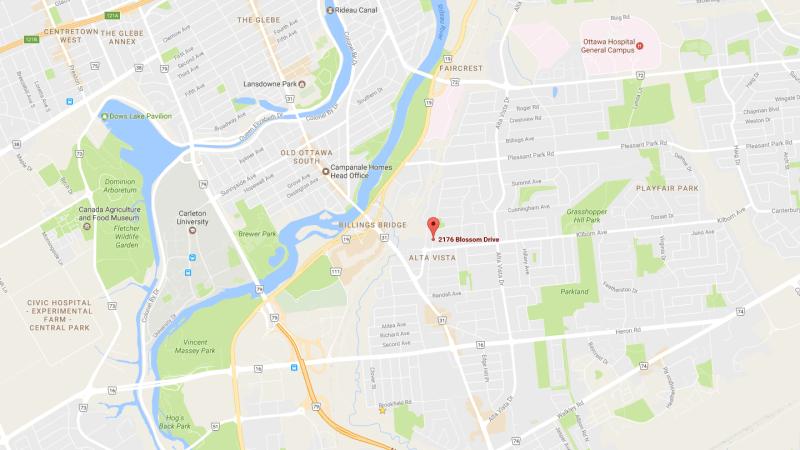 Blossom Apartments Map