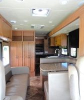 interior photo of rv