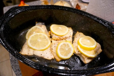 rv camping meal recipe pescatarian fish salmon camping recipe