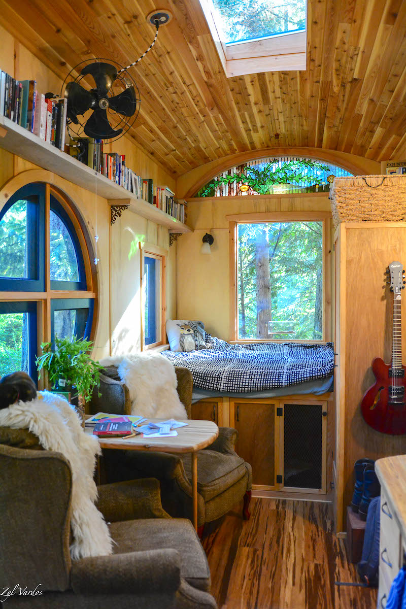 Tiny Home Interior Hippy Hipster Cozy