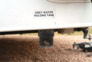 grey water tank rv how to empty