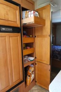 camper rv kitchen storage rv storage built in