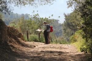 hiking trails maps hikers hike map