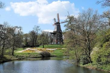 Windmühle im Bürgerpark in Bremen