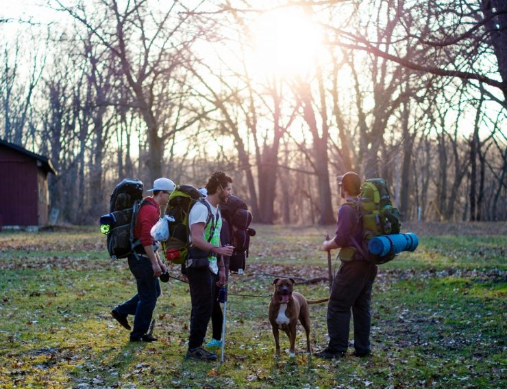 Eine freundliche Gemeinde - Campingnachbarn werden schnell zu Freunden