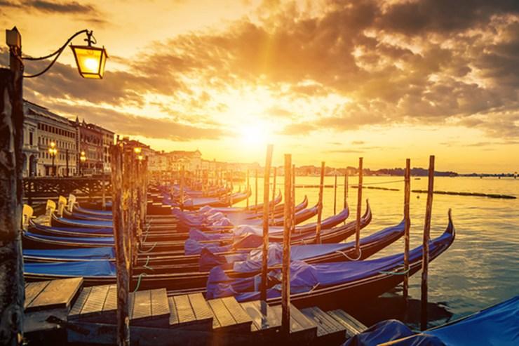 Venedig bildet den Abschluss eurer Camping-Reise.