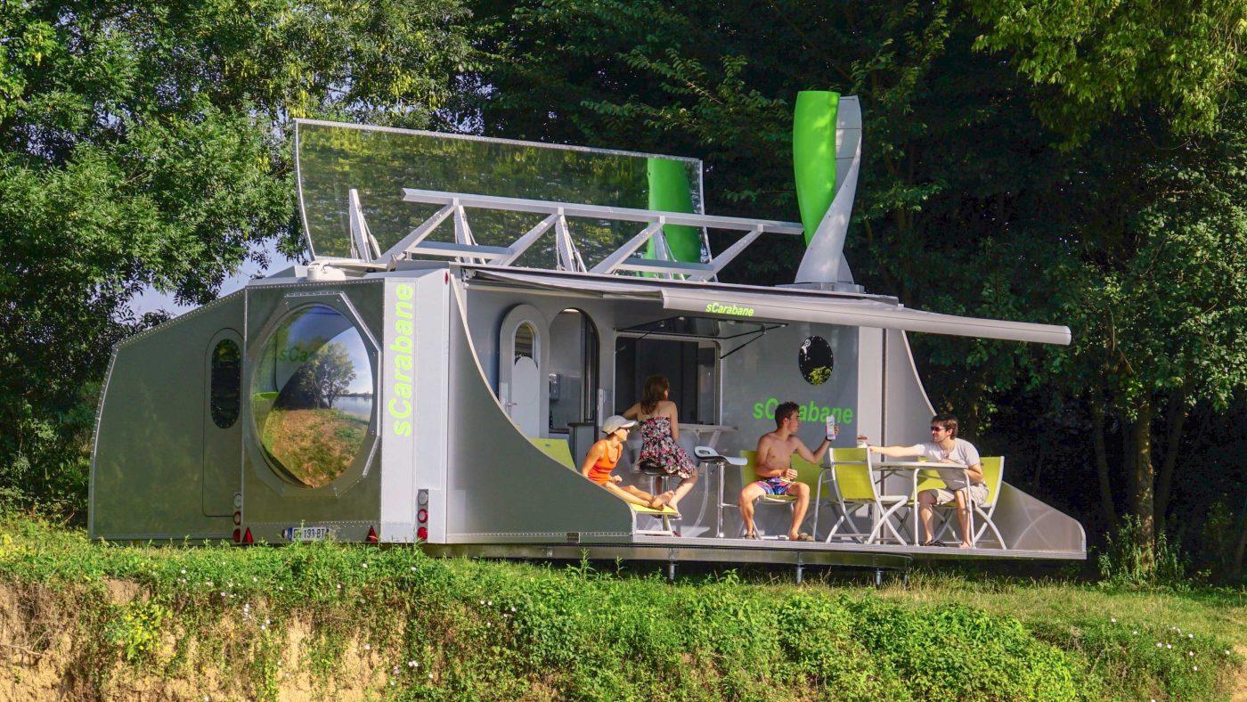VW T5 Doubleback Und SCarabane    Von Verrückten Campern Und Öko Wohnwagen