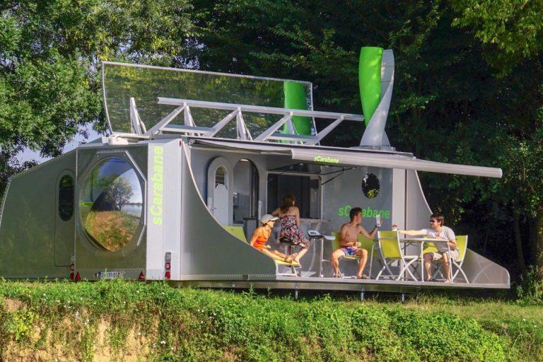 VW Doubleback und sCarabane — Das sind die abgefahrenen Wohnmobile von heute und morgen