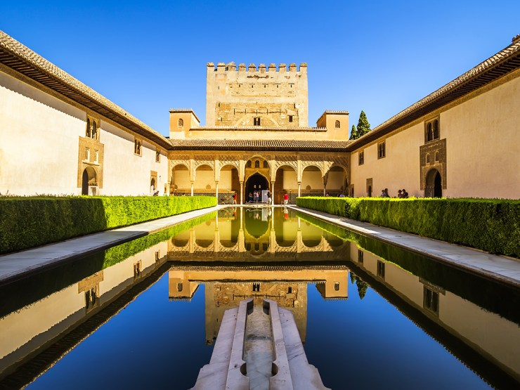 Gebäude in Granada