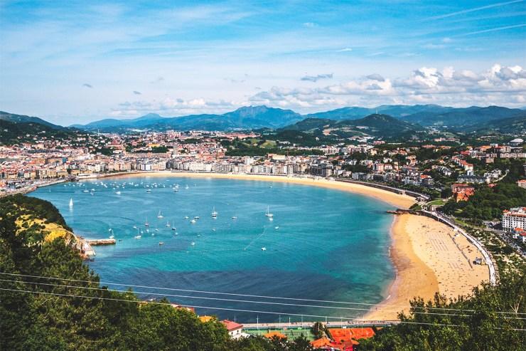 San Sebastián im Baskenland