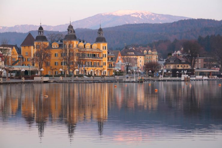 Schlosshotel Velden in Pörtschach