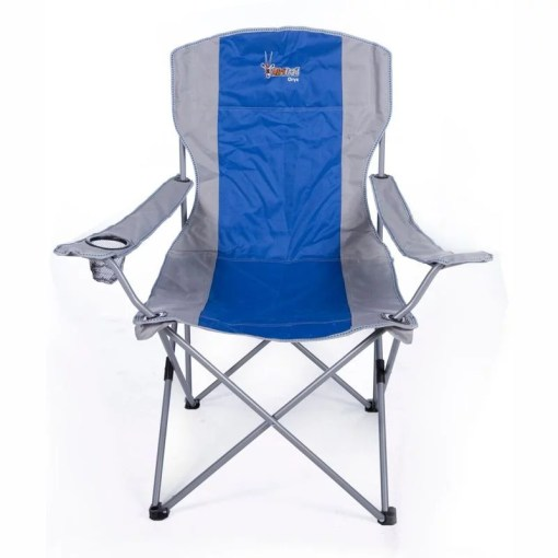 Afritrail Oryx Deluxe Folding Armchair Blue