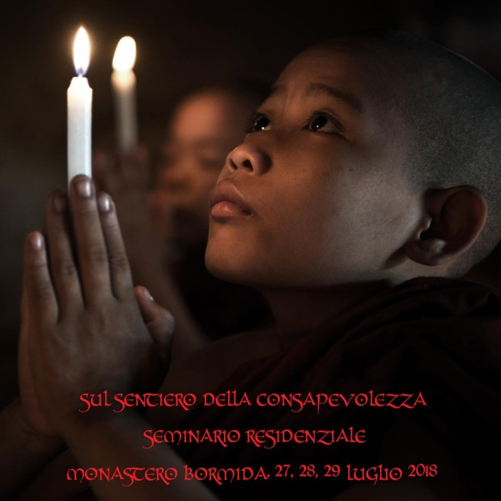 SUL SENTIERO DELLA CONSAPEVOLEZZA - MONASTERO BORMIDA - 27, 28, 29 LUGLIO 2018
