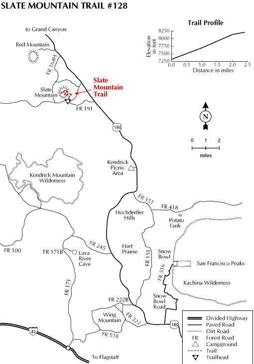 Slate Mountain Trail 128