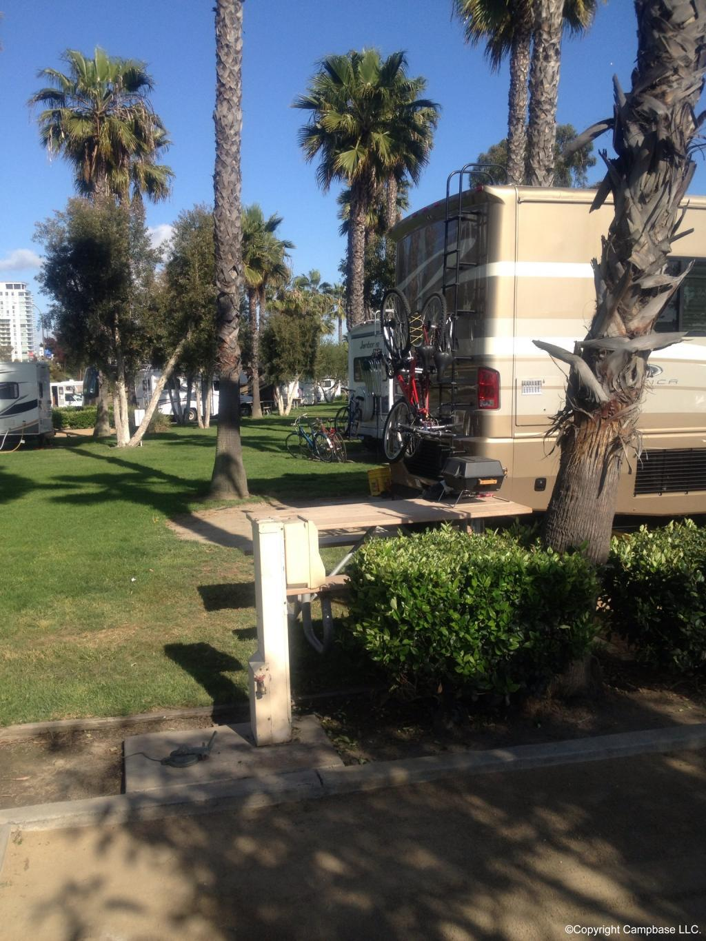 Golden Shore Rv Resort Long Beach California