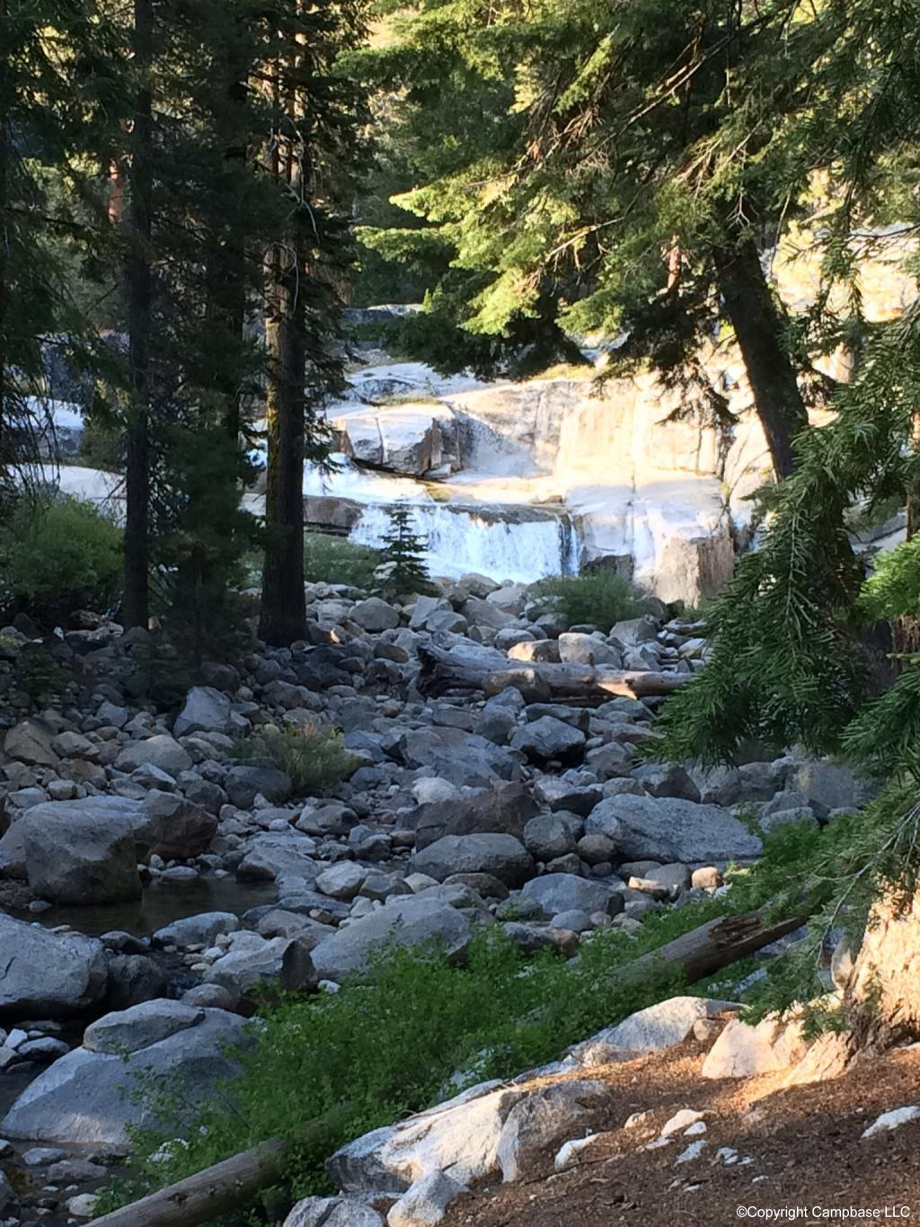 Lodgepole Campground  Sequoia NP Three Rivers California