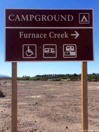 Furnace Creek Campground Death Valley NP, Death Valley ...