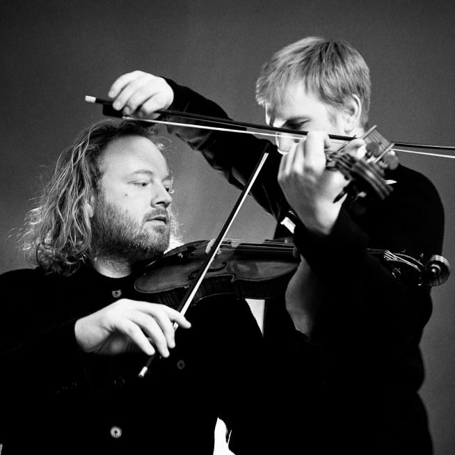 Edwin Huizinga and Keith Hamm