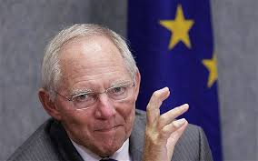 German Fin Min Wolfgang Schauble. I guess he thinks he's doing the right thing but his moral compass is confused.