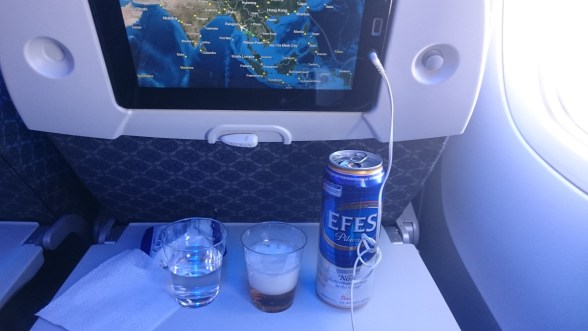 Efes on Air Astana