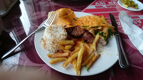 This kebab in Almaty was awesome. just want to put that on the record.