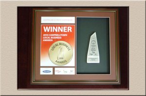 Business and Corporate framing at Campbelltown Framing Gallery