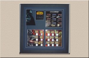 Star Wars Cards 3D Box at Campbelltown Framing