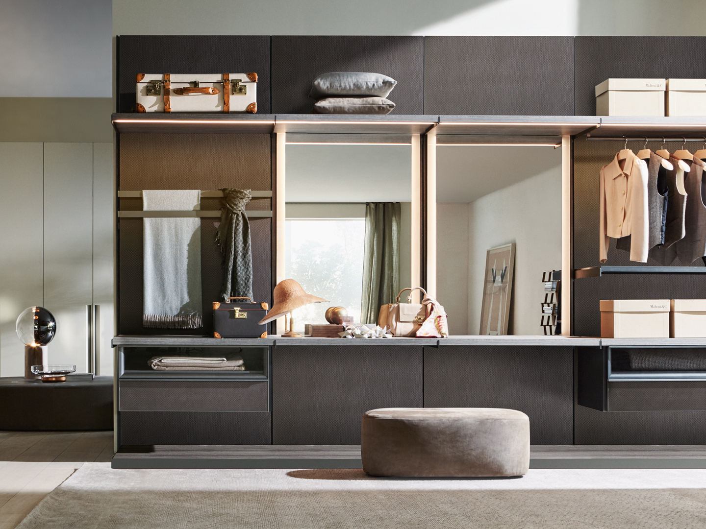 living room furniture long island modern sofas for small rooms molteni & c master dressing walk in wardrobe | buy at ...