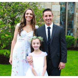 Ava's First Holy Communion
