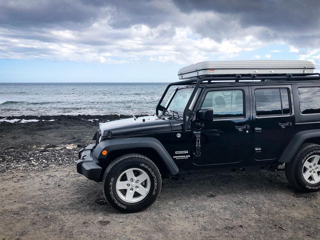 Jeep Wrangler Camper Rental Maui by CampCar - CampCar - Maui