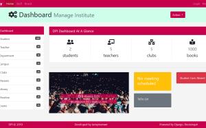 python django school management system