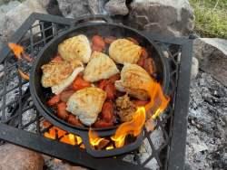 Dutch Oven Chicken Caprese