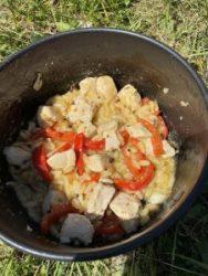Lemon Chicken Trangia Recipe