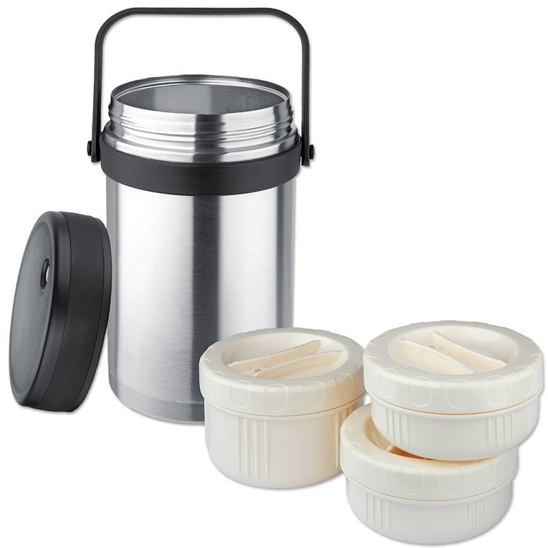 Isosteel 1.5L Insulated Food Container