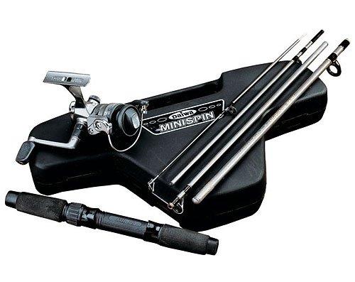 Daiwa Mini System Minispin Ultralight Spinning Reel and Rod Combo