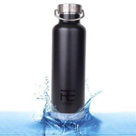 Rehydrate Pro Double Wall Vacuum Stainless Steel Insulated Water Bottle