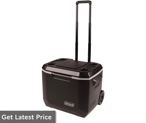 Coleman Rolling Cooler - 50 Quart Xtreme 5 Day Cooler with Wheels