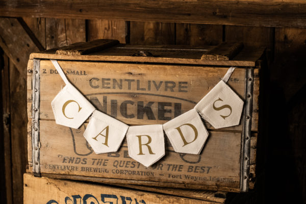 #19 Rustic Card Box