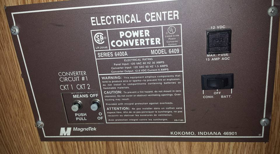 Rv Ac Power Wiring New Or Used Power Converter Campercommunity Forums