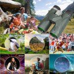 Jumelles 10×42 pour Adultes, Jumelles compactes Professionnelles HD pour l'observation des Oiseaux, Voyages, Observation des étoiles, Camping, Concerts, visites touristiques