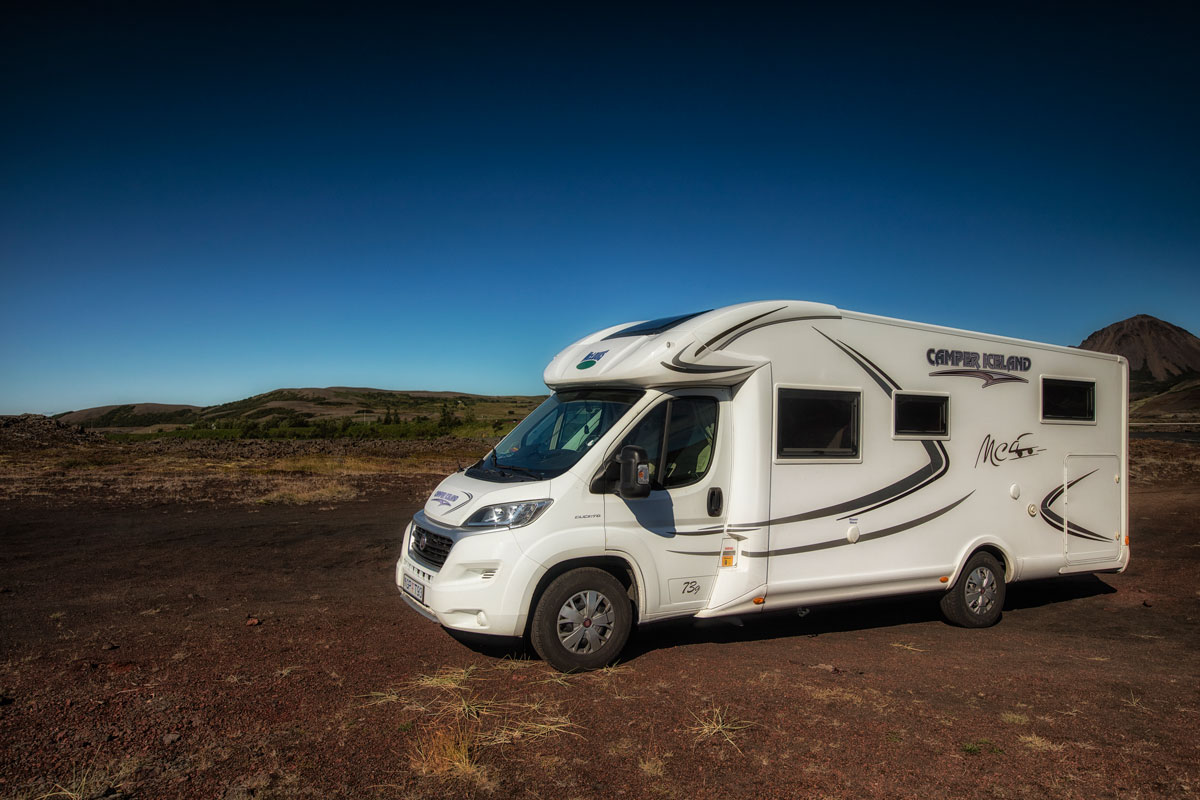 motor home 4 camper iceland iceland camper tours. Black Bedroom Furniture Sets. Home Design Ideas
