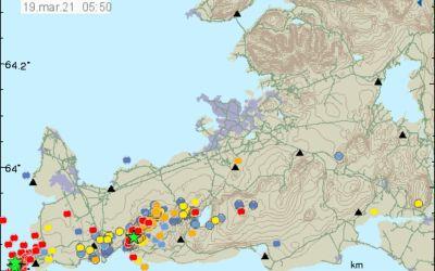 Earthquake continue