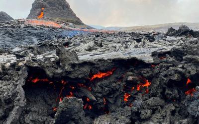 Besuchen Sie den Vulkan, wie die Isländer