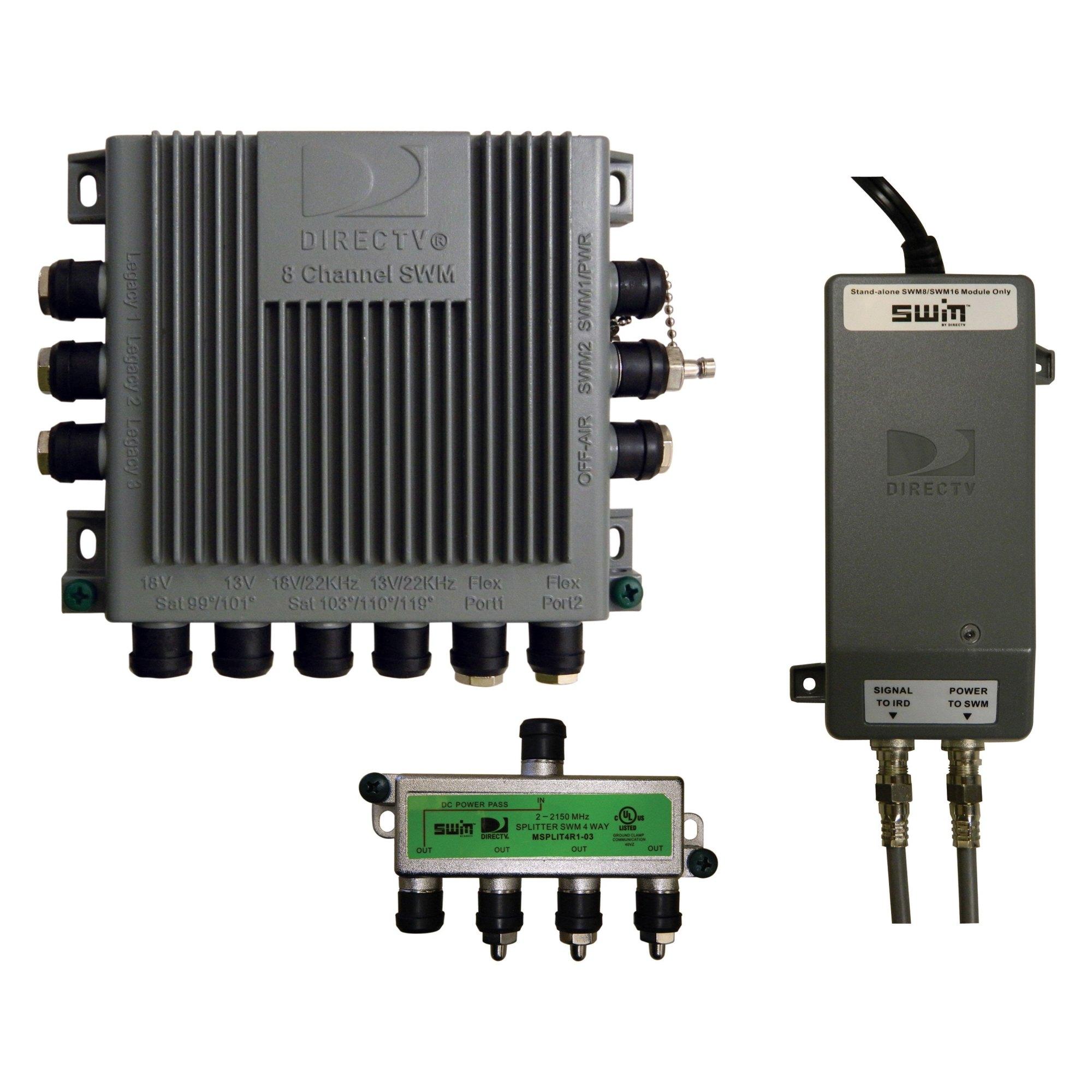 hight resolution of winegard directv multi switch kit